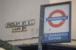 Shoreditch station, 2006