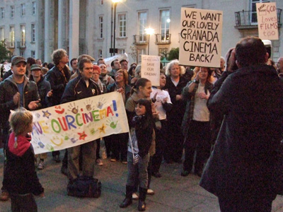 Walthamstow Town Hall protesters